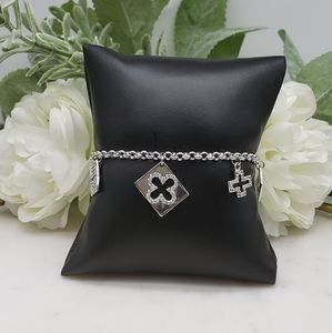 ✝️ STERLING SILVER 925 CrossCharm Bracelet